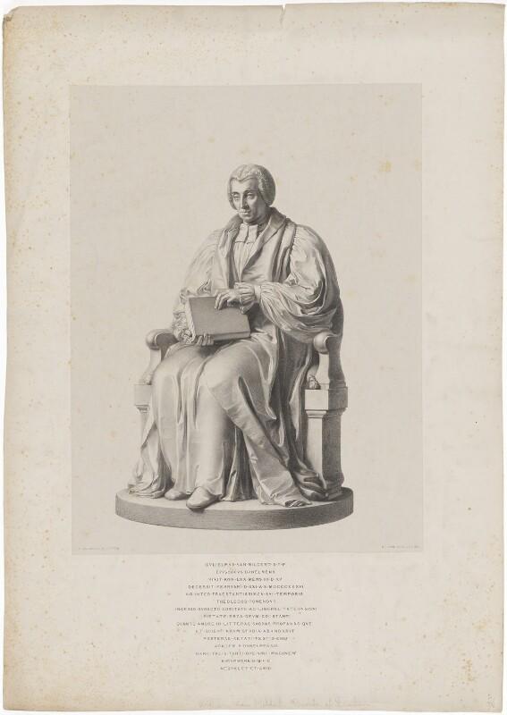 William Van Mildert, by Richard James Lane, after  John Gibson, 1842 - NPG D38816 - © National Portrait Gallery, London