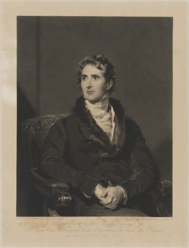 Sir Charles Richard Vaughan, by Samuel Cousins, after  Sir Thomas Lawrence, 1832 (1820-1825) - NPG D38819 - © National Portrait Gallery, London