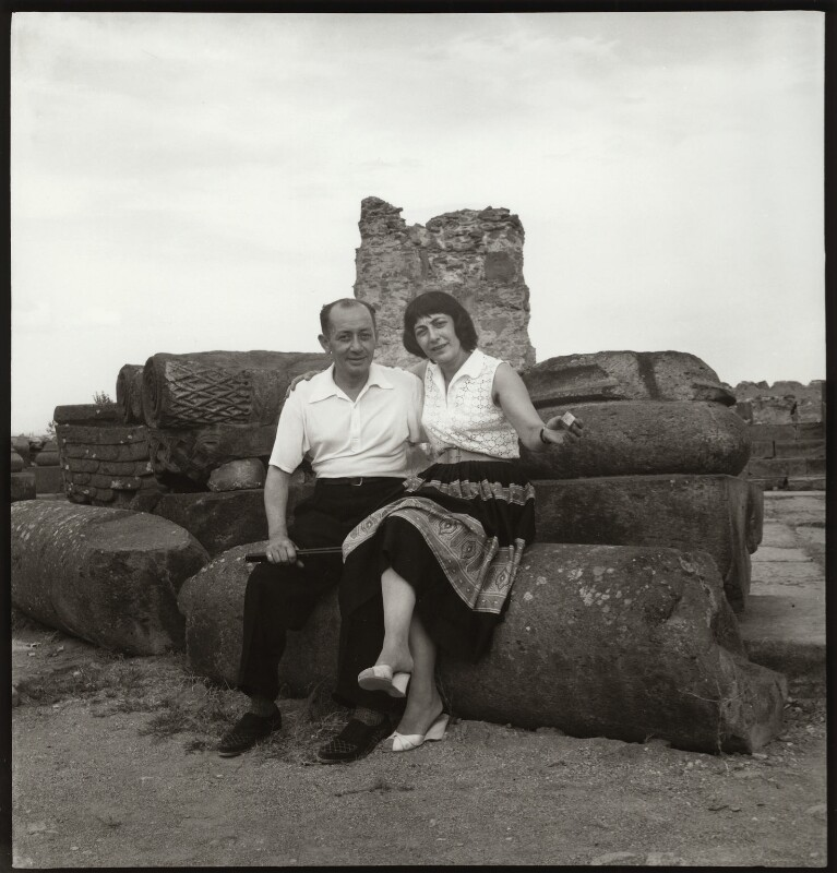 Sarkis Arutchian; Ida Kar, by Ida Kar, 1957 - NPG x134142 - © National Portrait Gallery, London