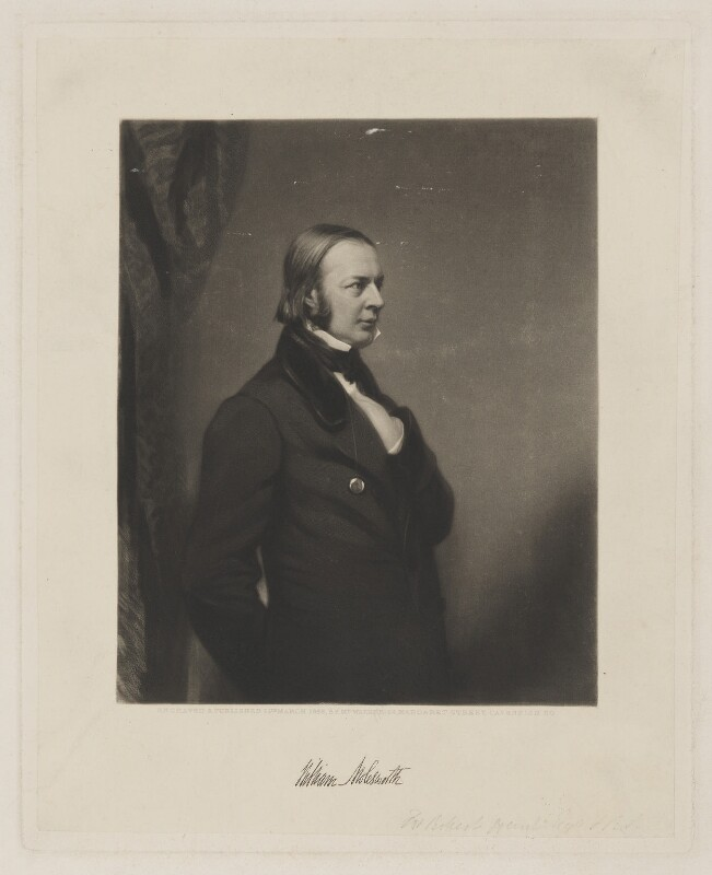 Sir William Molesworth, 8th Bt, by and published by William Walker, published 15 March 1856 - NPG D38853 - © National Portrait Gallery, London