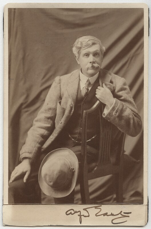 Sir Alfred Edward East, by Elliott & Fry, after 1900 - NPG x12827 - © National Portrait Gallery, London