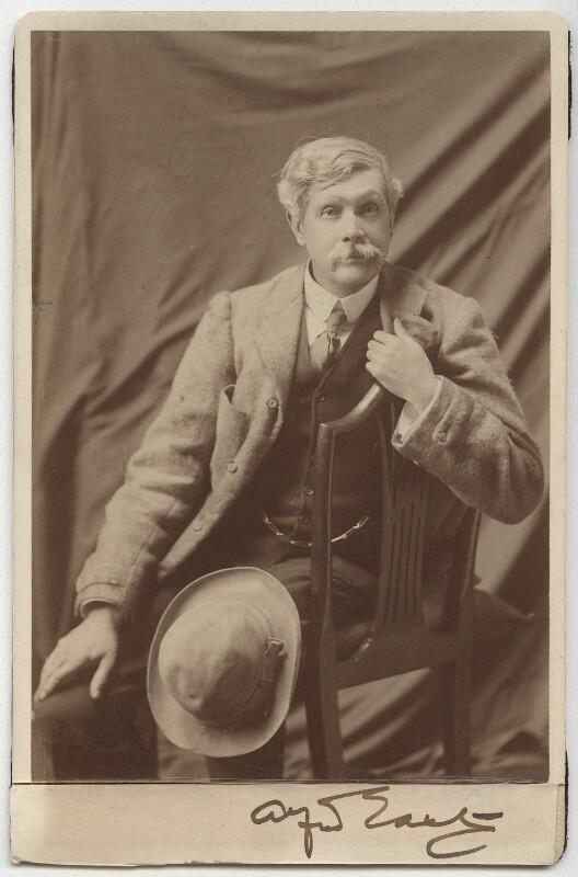Sir Alfred Edward East, by Elliott & Fry, after 1900 - NPG x12827 - © National Portrait Gallery, London