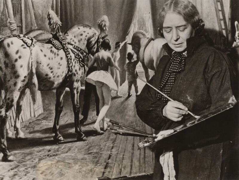 Laura Knight, by Unknown photographer, 1936 - NPG x134172 - © National Portrait Gallery, London