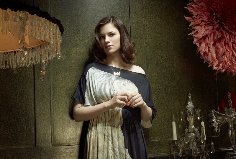 Hayley Atwell, by Jay Brooks, September 2008 - NPG x134187 - © Jay Brooks