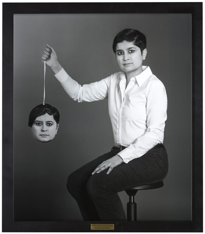 Shami Chakrabarti, by Gillian Wearing, 2011 - NPG 6923 - © National Portrait Gallery, London