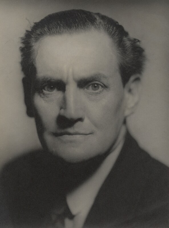 Henry Hinchliffe Ainley, by Howard Coster, July 1929 - NPG x3426 - © National Portrait Gallery, London