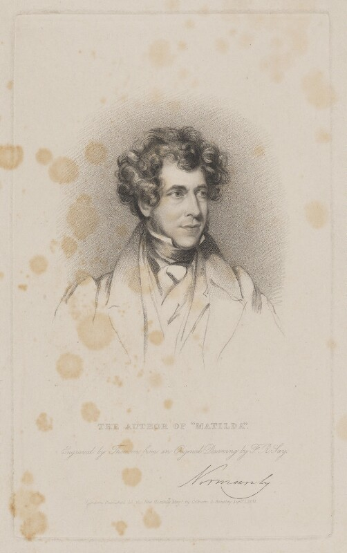 Constantine Henry Phipps, 1st Marquess of Normanby, by Henry Thomson, published by  Colburn & Bentley, after  Frederick Richard Say, published 1 September 1831 - NPG D38996 - © National Portrait Gallery, London