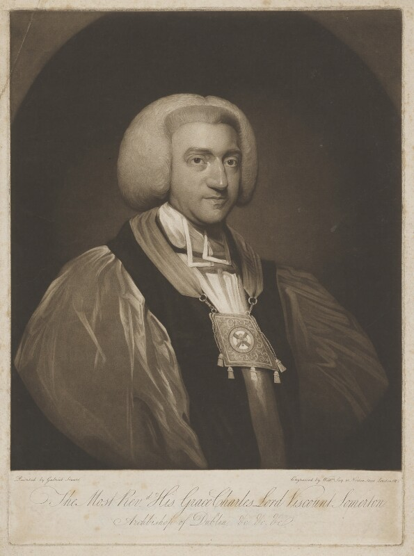 Charles Agar, 1st Earl of Normanton, by William Say, after  Gabriel Stuart, 1803 - NPG D38999 - © National Portrait Gallery, London