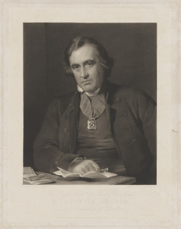 Richard Chenevix Trench, by John Richardson Jackson, published by  Paul and Dominic Colnaghi, Scott & Co, after  George Richmond, published 1 December 1863 - NPG D39283 - © National Portrait Gallery, London