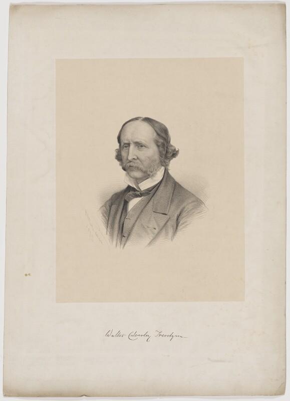 Sir Walter Calverley Trevelyan, 6th Bt, by George B. Black, 1879 - NPG D39290 - © National Portrait Gallery, London