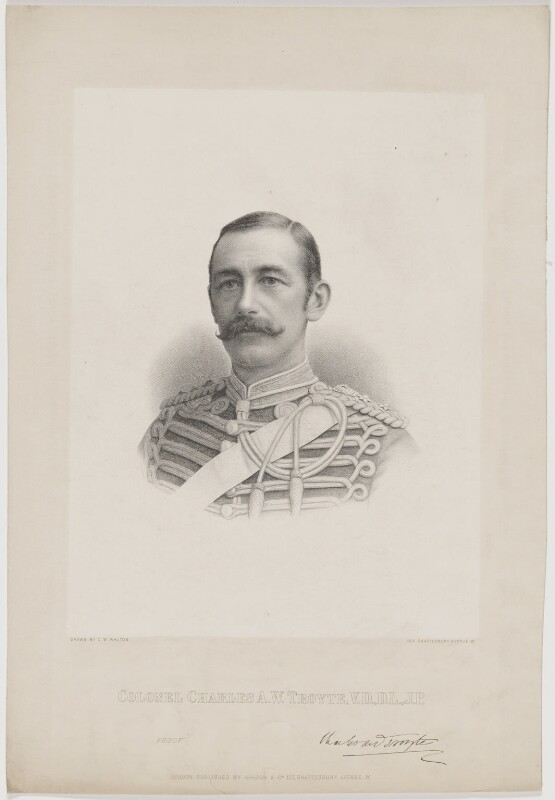 Charles Arthur Williams Troyte (né Acland), by Charles William Walton, published by  C.W. Walton & Co, late 19th century - NPG D39412 - © National Portrait Gallery, London