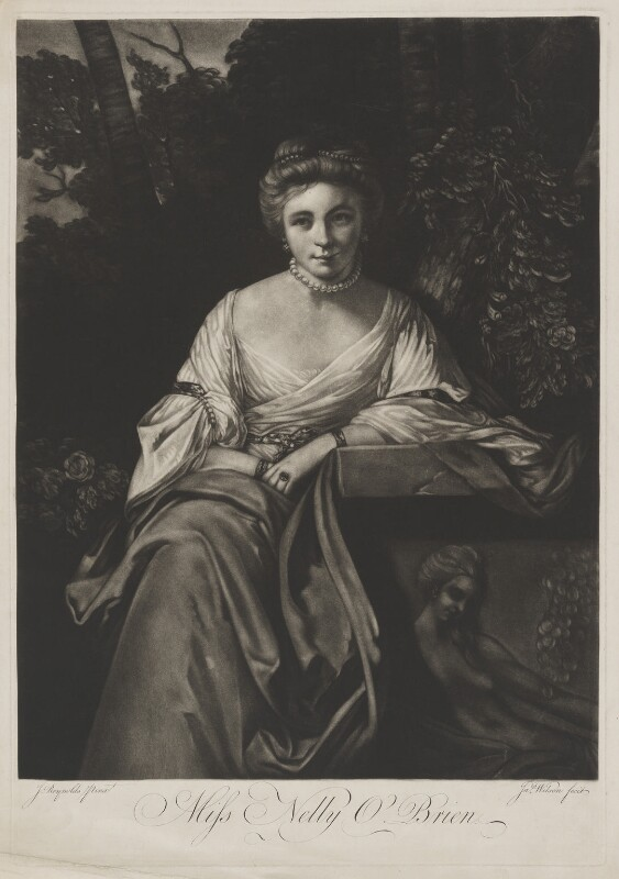 Nelly O'Brien, by James Wilson, after  Sir Joshua Reynolds, (circa 1762-1764) - NPG D39345 - © National Portrait Gallery, London