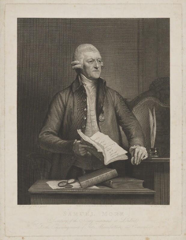 Samuel More, by William Sharp, published by  Samuel More, after  Benjamin West, published 30 November 1798 (1796) - NPG D38960 - © National Portrait Gallery, London