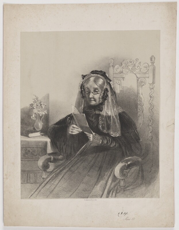 Catherine Hannah Ogle, printed by Dickinson Brothers, mid 19th century - NPG D39353 - © National Portrait Gallery, London