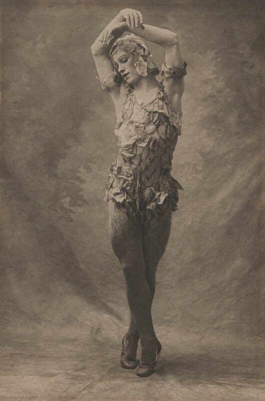 Vaslav Nijinsky in 'Le SpeVaslav Nijinskytre de la Rose', by (Auguste) Bert, 1911 - NPG x134200 - © reserved; collection National Portrait Gallery, London