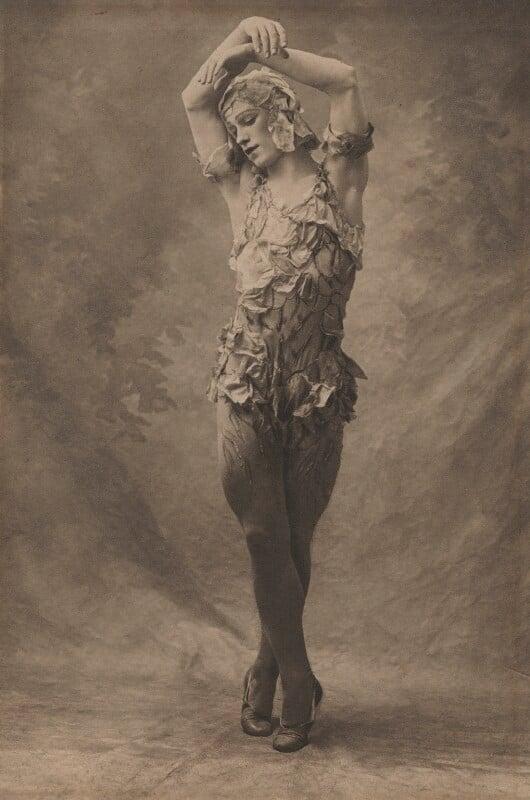 Vaslav Nijinsky in 'Le SpeVaslav Nijinskytre de la Rose', by (Auguste) Bert, 1911 - NPG x134200 - © reserved; collection National Portrait Gallery, London