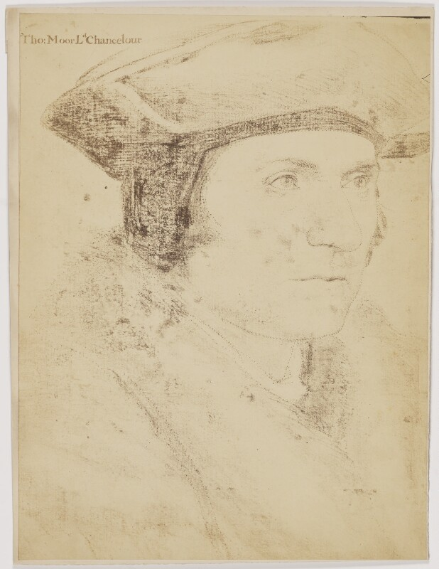 Sir Thomas More, after Hans Holbein the Younger, (circa 1527) - NPG D39011 - © National Portrait Gallery, London