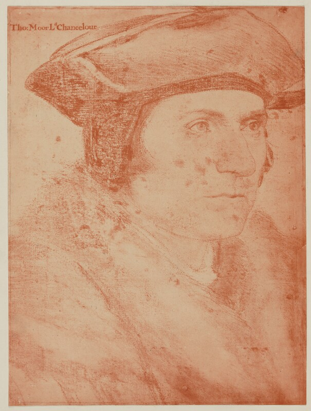 Sir Thomas More, after Hans Holbein the Younger, (circa 1527) - NPG D39012 - © National Portrait Gallery, London