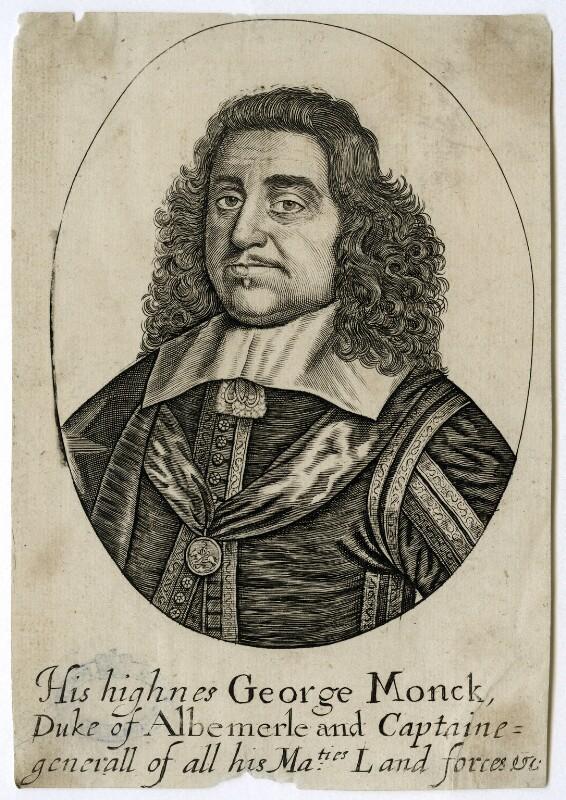 George Monck, 1st Duke of Albemarle, after Unknown artist, circa 1660-1670 - NPG D39426 - © National Portrait Gallery, London