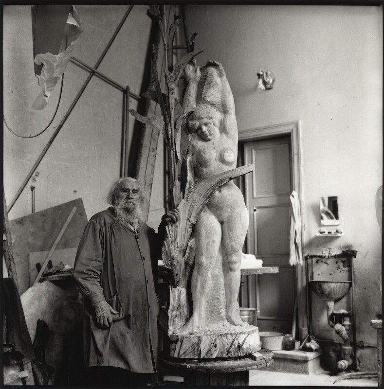 Sergei Konenkov, by Ida Kar, 1962 - NPG x134220 - © National Portrait Gallery, London