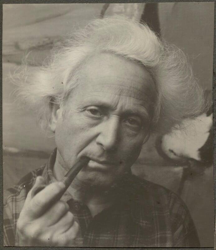 Emmanuel Mané-Katz, by Ida Kar, 1954 - NPG Ax134287 - © National Portrait Gallery, London