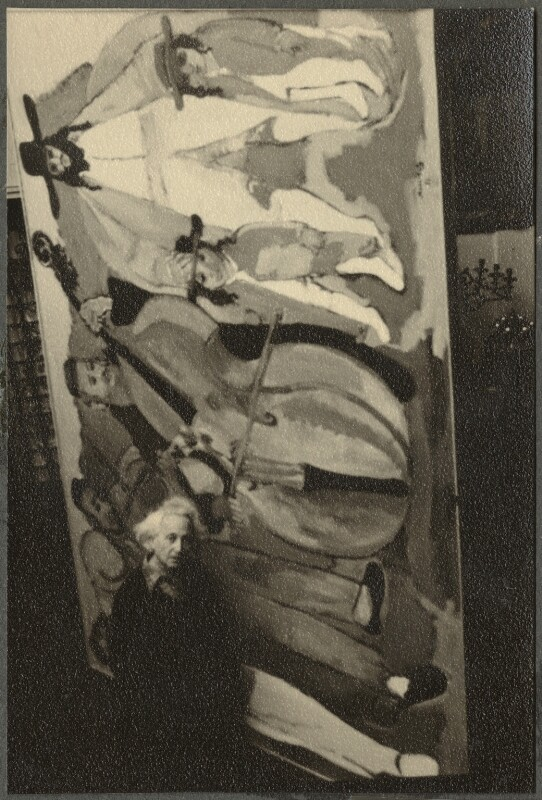 Emmanuel Mané-Katz, by Ida Kar, 1954 - NPG Ax134289 - © National Portrait Gallery, London