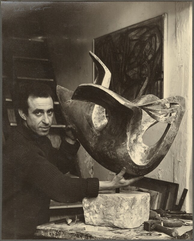 Constantine ('Costas') Andreou, by Ida Kar, 1954 - NPG Ax134292 - © National Portrait Gallery, London