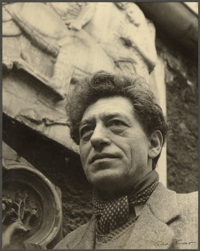 Alberto Giacometti, by Ida Kar, 1954 - NPG Ax134319 - © National Portrait Gallery, London
