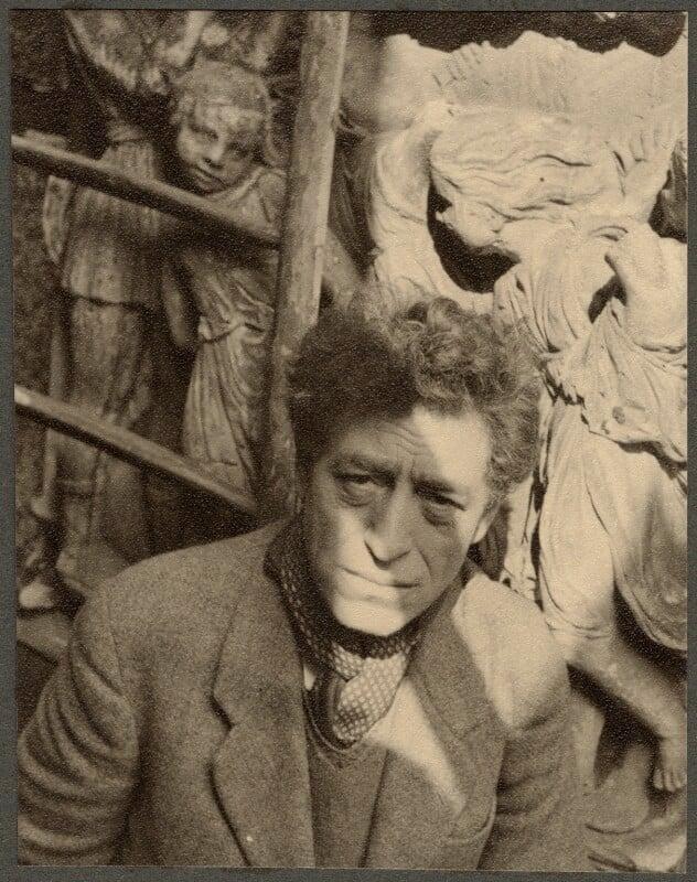 Alberto Giacometti, by Ida Kar, 1954 - NPG Ax134323 - © National Portrait Gallery, London
