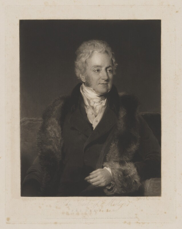 John Parker, 1st Earl of Morley, by William Say, published by  Colnaghi, Son & Co, after  Frederick Richard Say, published 2 May 1831 - NPG D39036 - © National Portrait Gallery, London