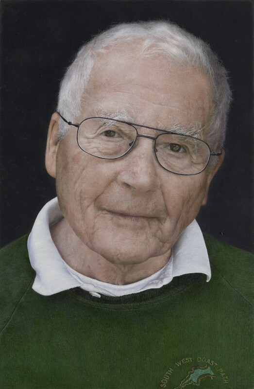 James Ephraim Lovelock, by Michael Gaskell, 2011 - NPG 6928 - © National Portrait Gallery, London