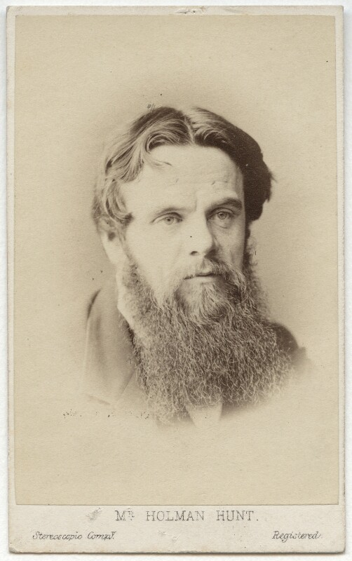 William Holman Hunt, by London Stereoscopic & Photographic Company, circa 1865 - NPG x11985 - © National Portrait Gallery, London