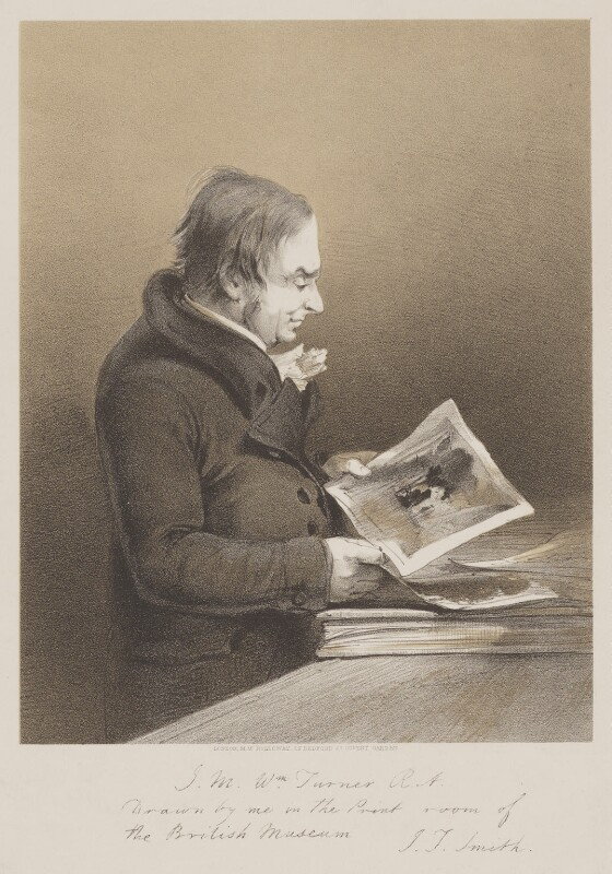J.M.W. Turner, published by Marseille Middleton Holloway, after  John Thomas Smith, mid 19th century - NPG D39438 - © National Portrait Gallery, London
