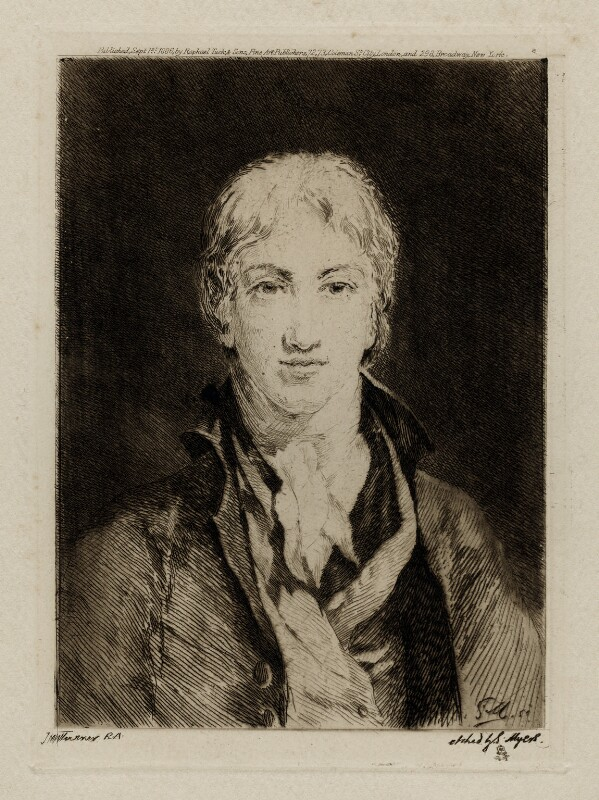 Joseph Mallord William Turner, by Simeon Myers, published by  Raphael Tuck & Sons, after  Joseph Mallord William Turner, published 1 September 1886 - NPG D39447 - © National Portrait Gallery, London