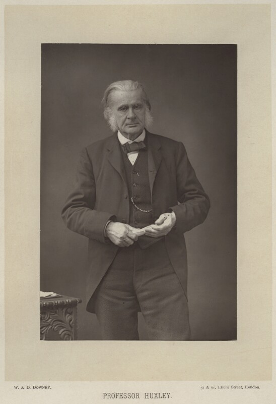 Thomas Henry Huxley, by W. & D. Downey, published by  Cassell & Company, Ltd, published 1890 - NPG x11999 - © National Portrait Gallery, London
