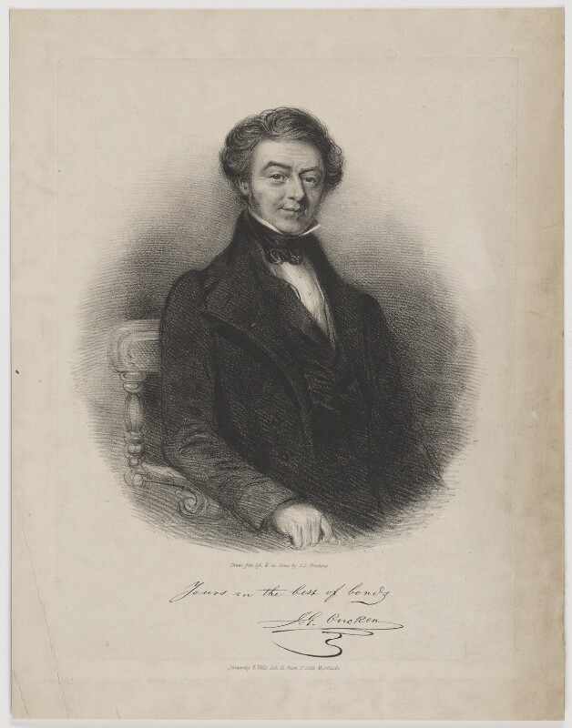 Johann Gerhard Oncken, by John Jewell Penstone, printed by  Nosworthy & Wells, mid 19th century - NPG D39375 - © National Portrait Gallery, London