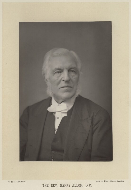 Henry Allon, by W. & D. Downey, published by  Cassell & Company, Ltd, published 1890 - NPG x44 - © National Portrait Gallery, London