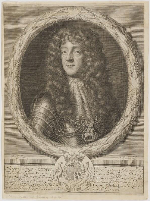 Thomas Butler, Earl of Ossory, by Peter Vanderbank (Vandrebanc), after  Sir Peter Lely, late 17th century - NPG D39388 - © National Portrait Gallery, London