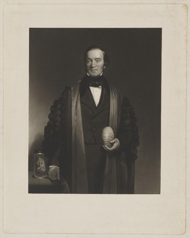 Sir Richard Owen, after Frederick Richard Pickersgill, (circa 1845) - NPG D39479 - © National Portrait Gallery, London