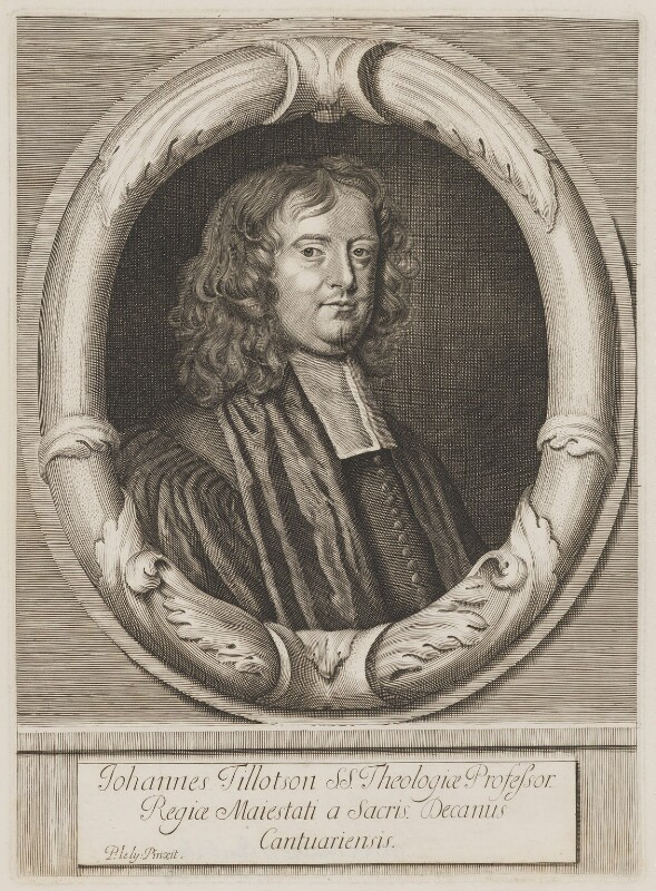 John Tillotson, after Sir Peter Lely, (1672) - NPG D39617 - © National Portrait Gallery, London