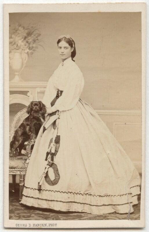 Maria Feodorovna, Empress of Russia (Princess Dagmar), by Georg Emil Hansen, 1860s - NPG x131627 - © National Portrait Gallery, London