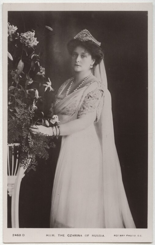 Alexandra, Empress of Russia (née Princess Alix of Hesse and by Rhine), published by Rotary Photographic Co Ltd, 1910s - NPG x131648 - © National Portrait Gallery, London