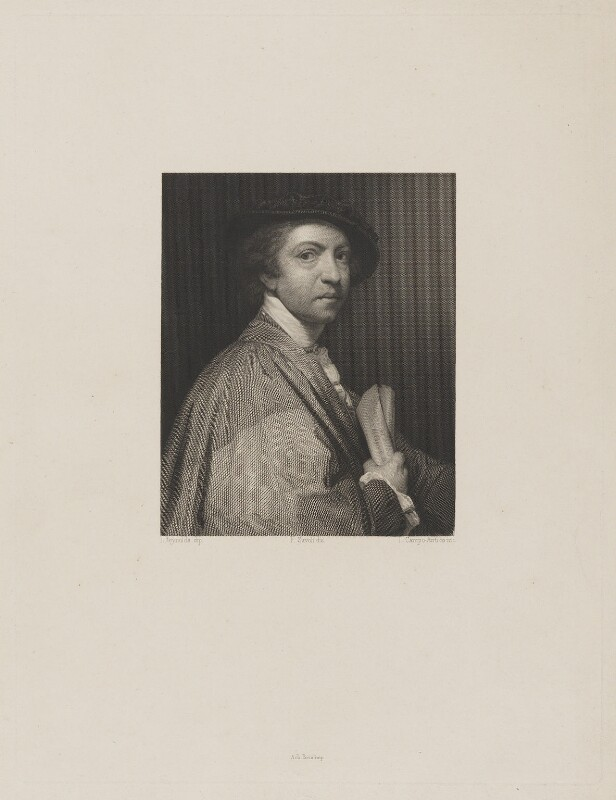 Sir Joshua Reynolds, by L. Campo-Antico, published by  F. Savoli, after  Sir Joshua Reynolds, (1775) - NPG D39698 - © National Portrait Gallery, London