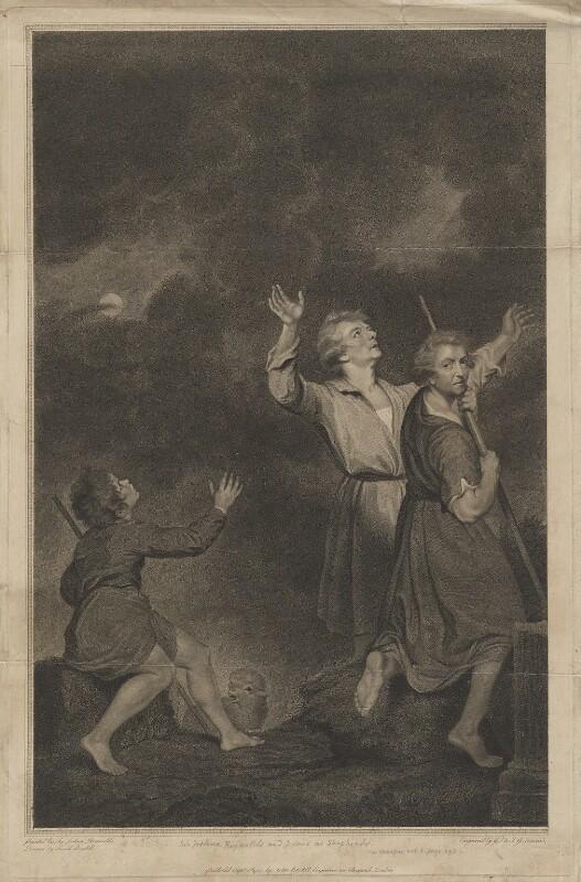 'Adoration of the Shepherds' (Thomas Jervais; Sir Joshua Reynolds), by Georg Siegmund Facius, by  Johann Gottlieb Facius, published by  John Boydell, after  Josiah Boydell, after  Sir Joshua Reynolds, published 1 September 1785 (1783-1785) - NPG D39706 - © National Portrait Gallery, London