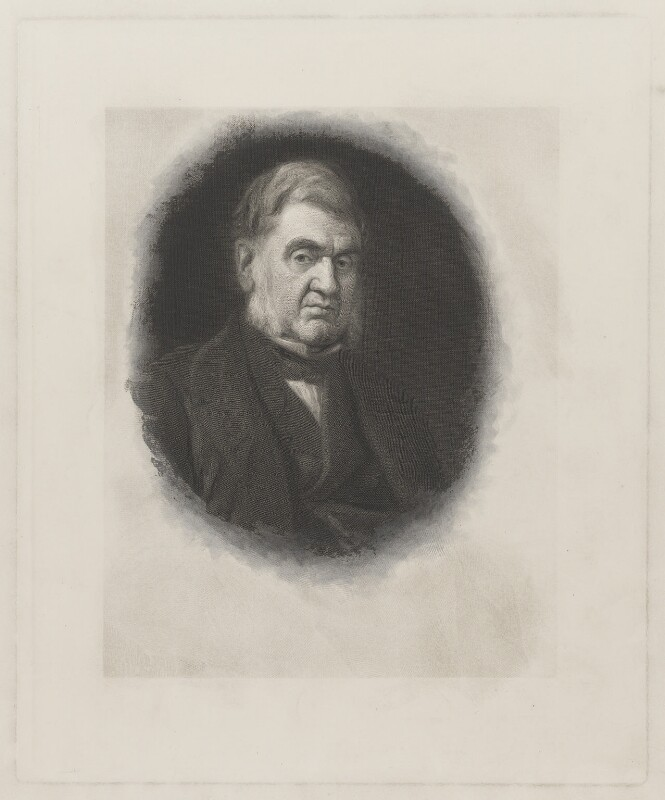 Sir Anthony Panizzi, by John Outrim, after  George Frederic Watts, (circa 1866) - NPG D39524 - © National Portrait Gallery, London