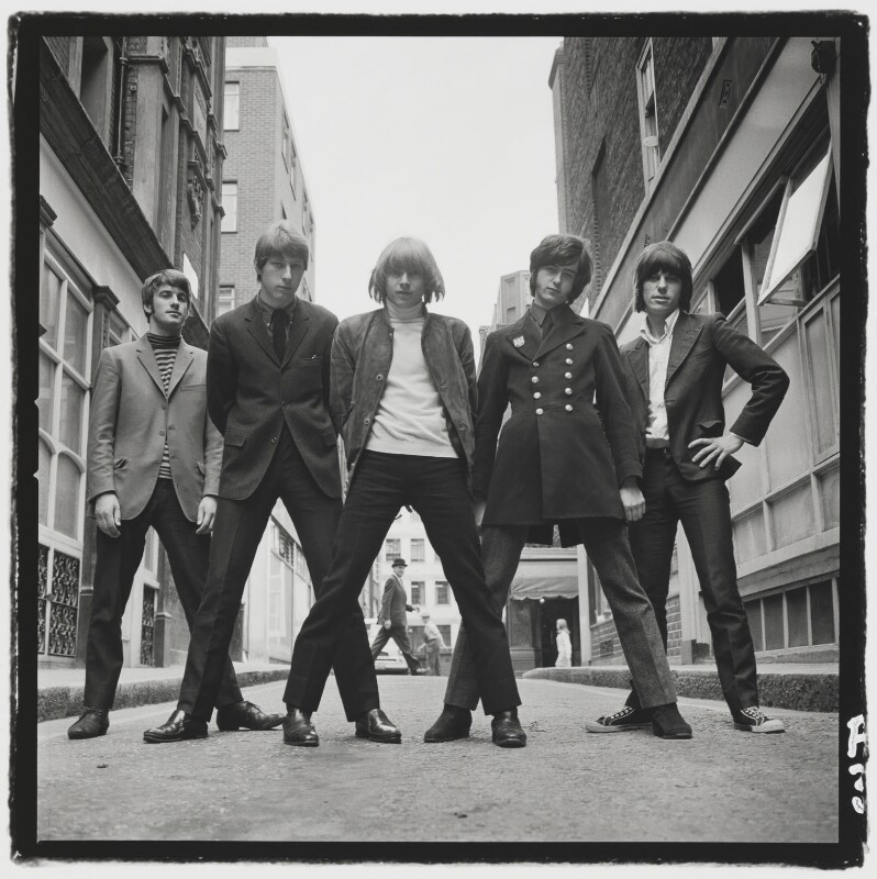 The Yardbirds, by Gered Mankowitz, 1966 - NPG P1373 - Photograph by Gered Mankowitz © Bowstir Ltd 2017 / mankowitz.com