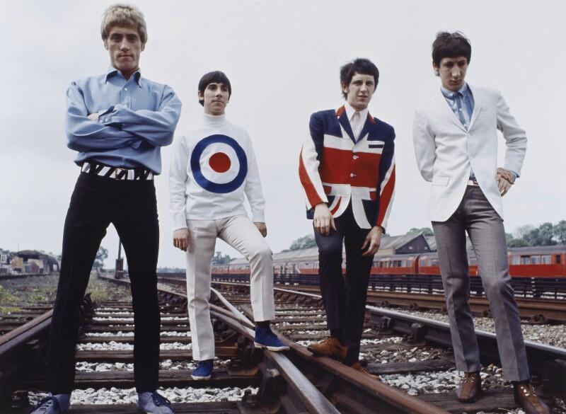 The Who (Roger Daltrey, Keith Moon, John Entwistle, Pete Townshend), by Tony Frank, 1965 - NPG P1380 - © tonyfrank / National Portrait Gallery, London
