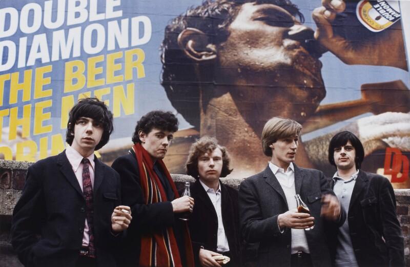 Them (Peter Bardens, Alan Henderson, Van Morrison, Billy Harrison, Pat McAuley), by Tony Frank, 1965 - NPG P1381 - © tonyfrank / National Portrait Gallery, London