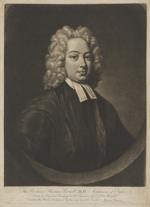 Thomas Parnell, after Unknown artist, published 17 March 1771 - NPG D39543 - © National Portrait Gallery, London