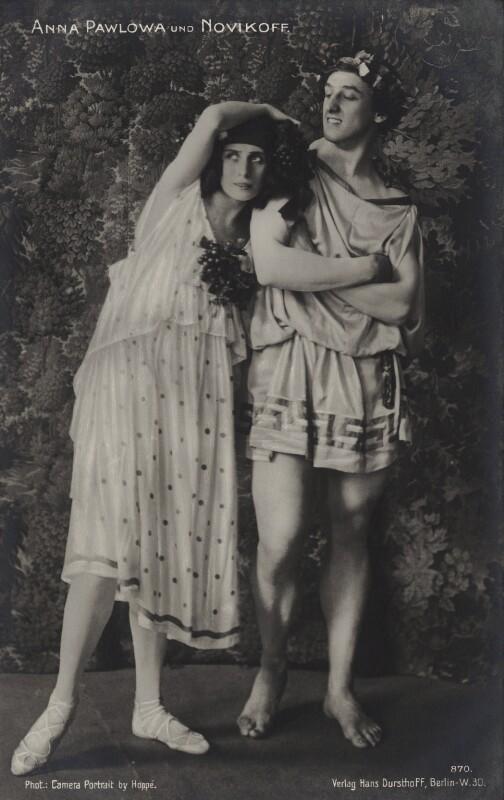 Anna Pavlova and Laurent Novikoff in 'Autumn Bacchanal', by Emil Otto ('E.O.') Hoppé, 1911 - NPG x134424 - © 2017 E.O. Hoppé Estate Collection / Curatorial Assistance Inc.